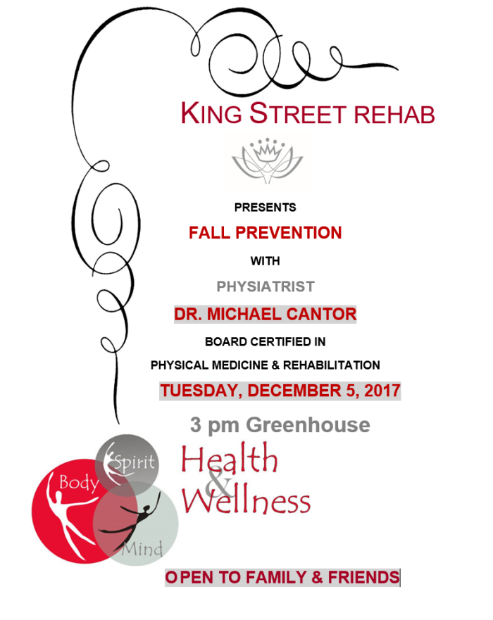 Fall Prevention with Dr. MIchael Cantor